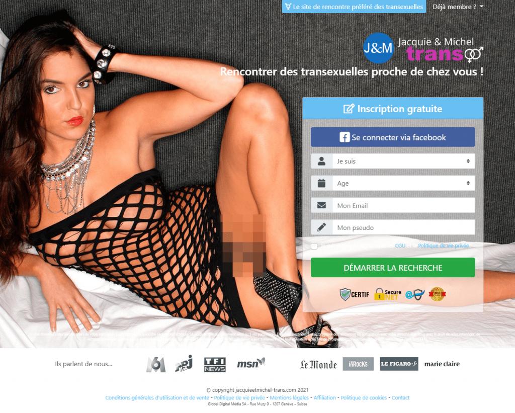site de rencontre transsexuel J&M