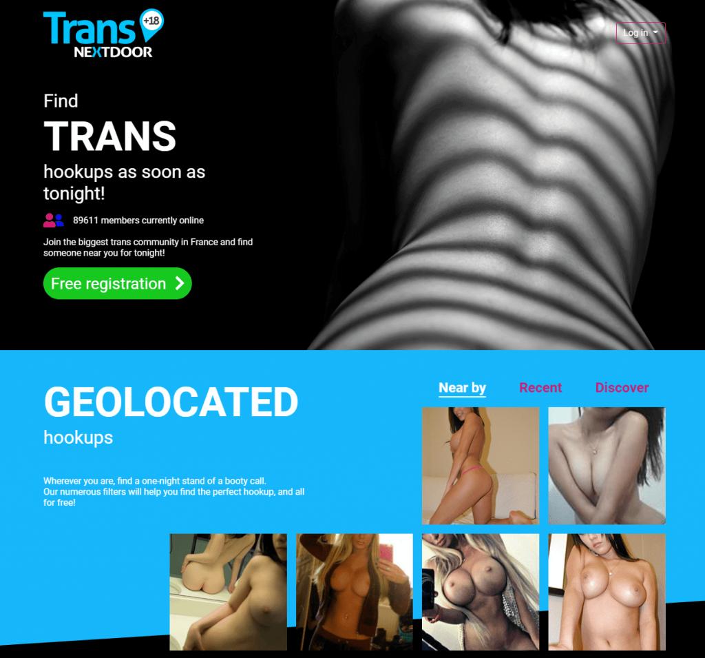 site de rencontre transsexuel, plan cul nextdoor