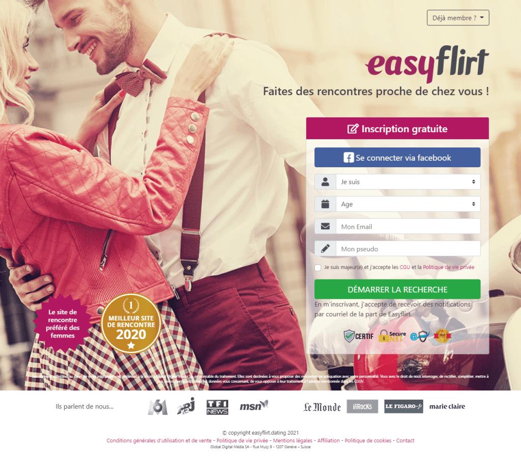 easyflirt avis site de rencontre sérieuse pour mariage