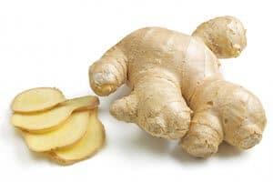 Aliments pour agrandir le pénis gingembre